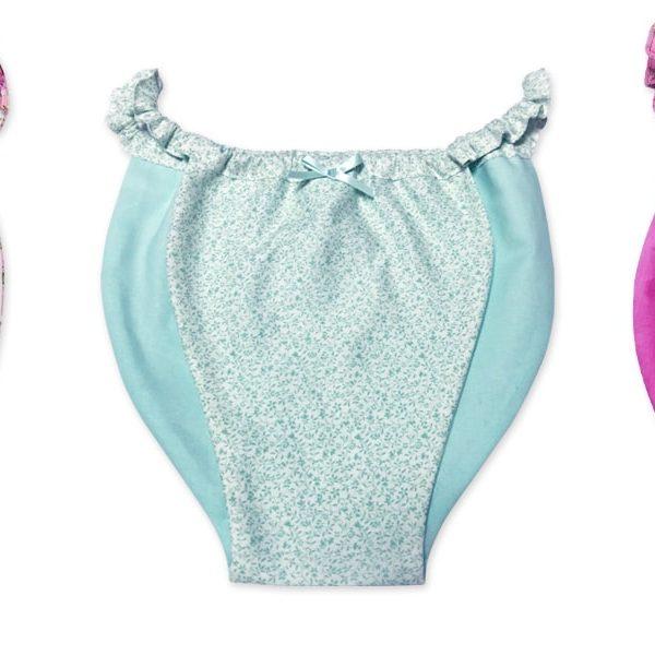 【型紙】はごろもショーツ(梅) Hagoromo shorts -UME-