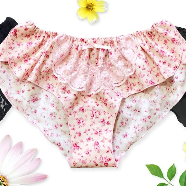 【型紙】はごろもショーツ(椛) Hagoromo shorts -MOMIJI-