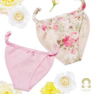 【型紙】はごろもショーツ(桜) 姫タイプ Hagoromo shorts -SAKURA- HIME Type発売開始